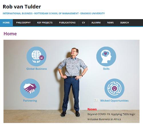 Website Rob van Tulder